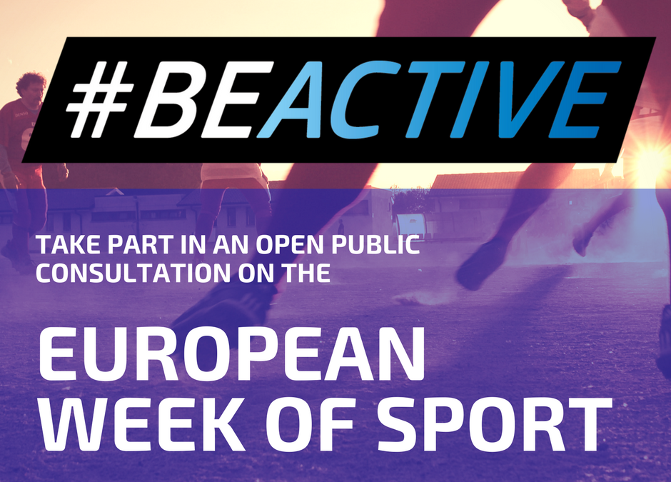 Commission launches open public consultation on the European Week of Sport