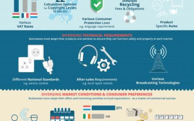 Infographic – Why products & services are not sold everywhere in the EU?