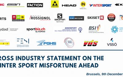Cross industry Statement on the Winter Sport misfortune ahead
